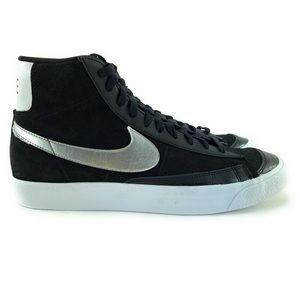 Nike Women's Blazer Mid Vintage 77 Black Shoes